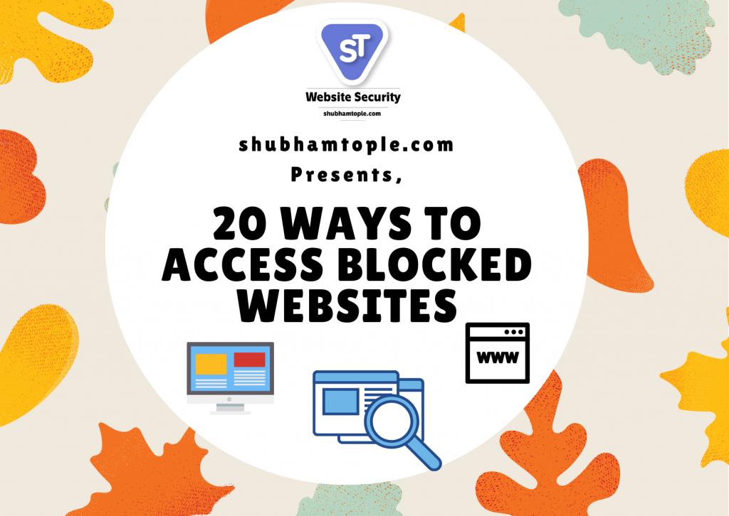 Access Blocked websites