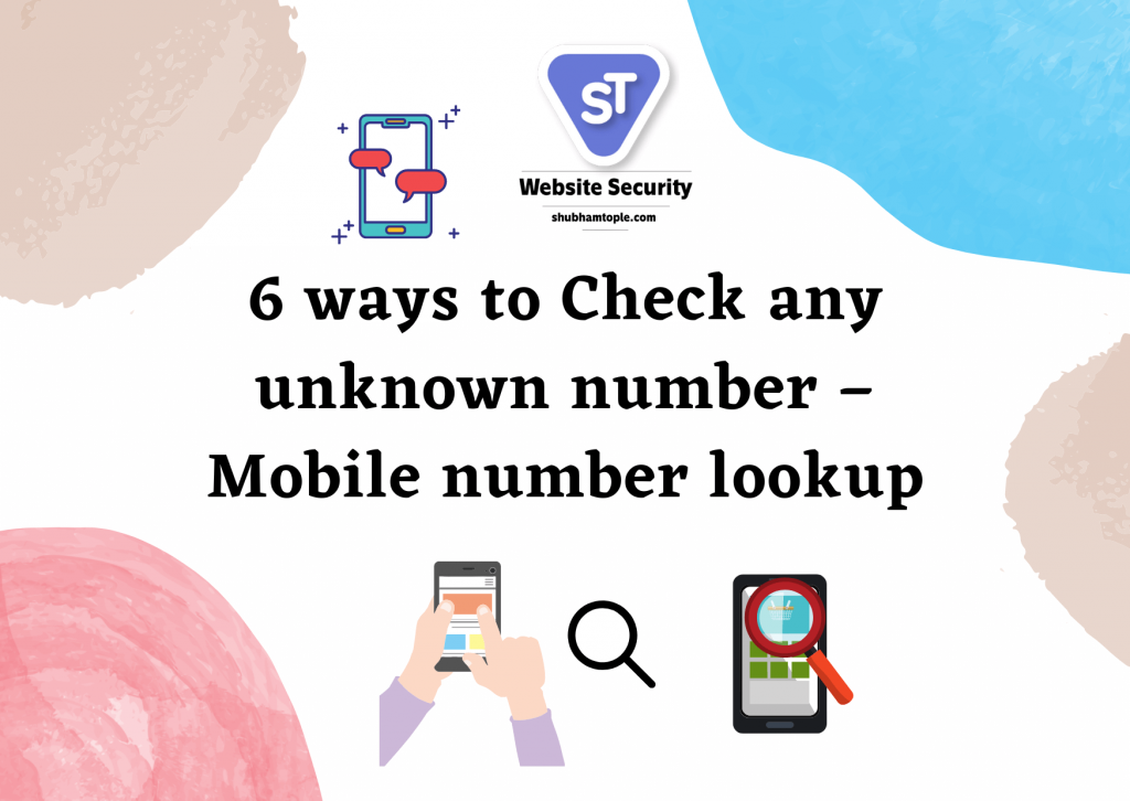 Check any unknown number