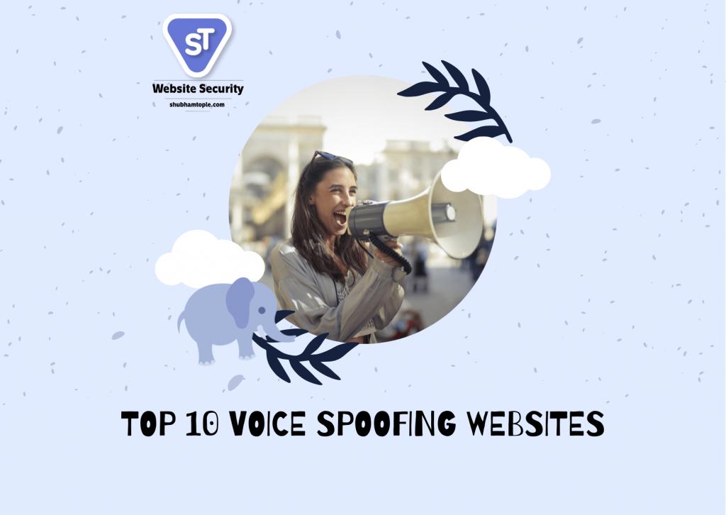 Voice Spoofing Websites