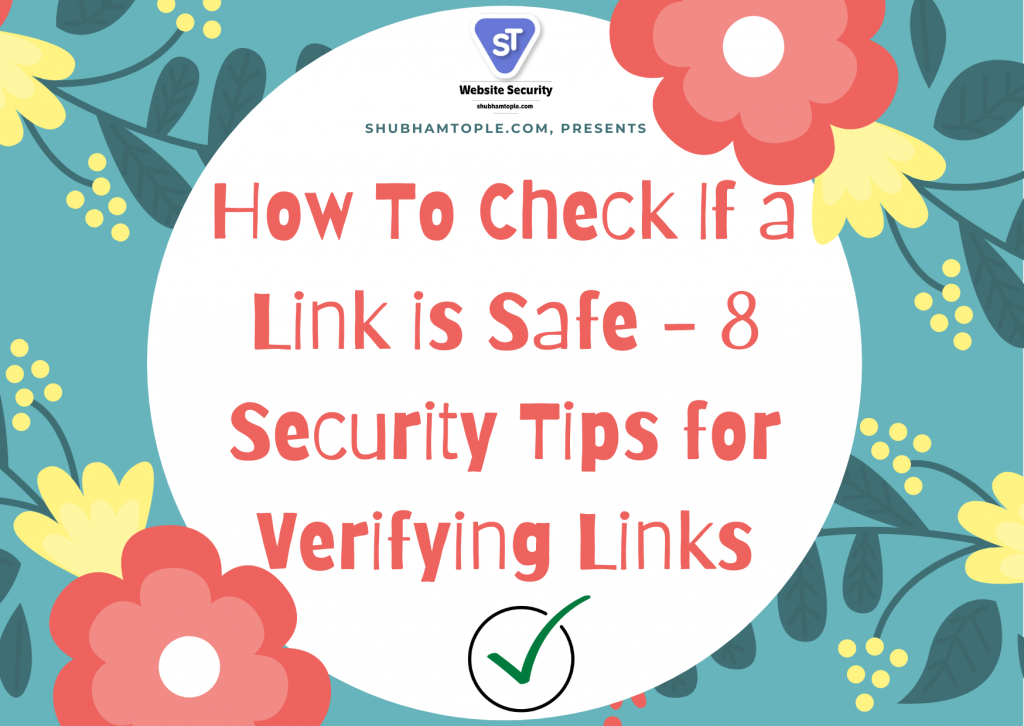 how to check if link is safe
