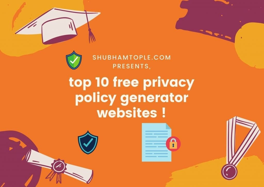 top 10 free privacy policy generator websites