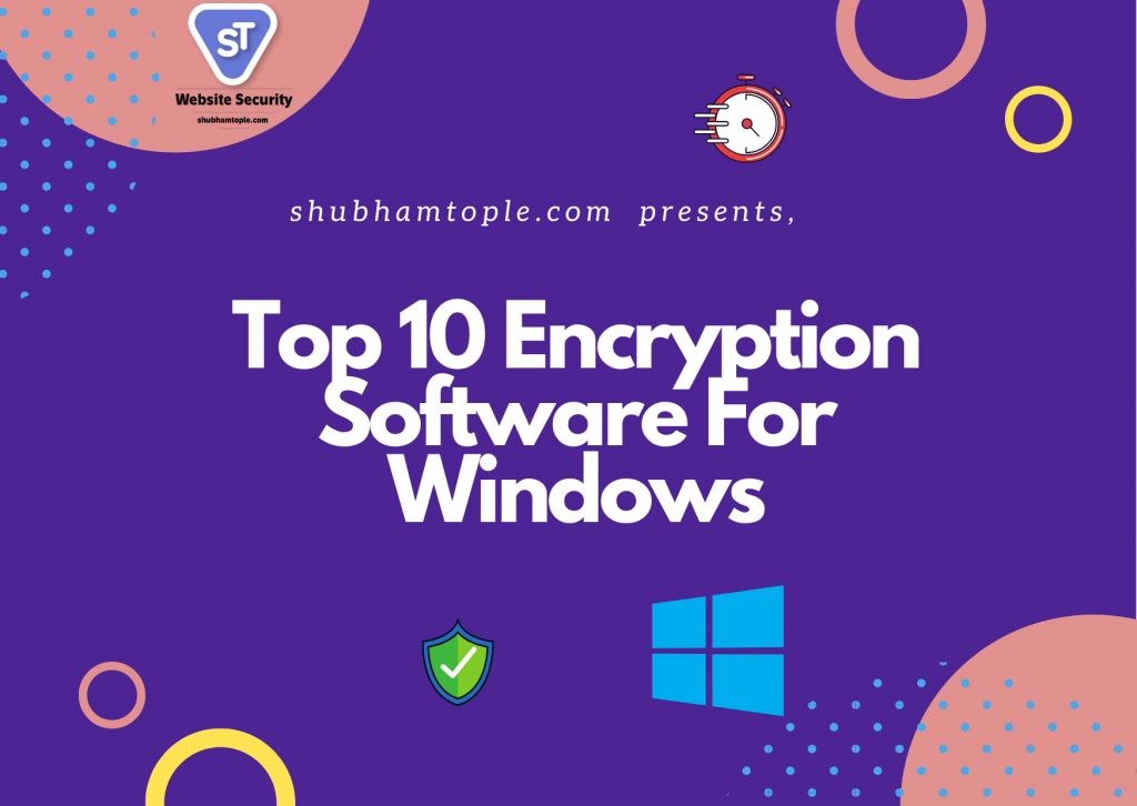 encryption software for windows