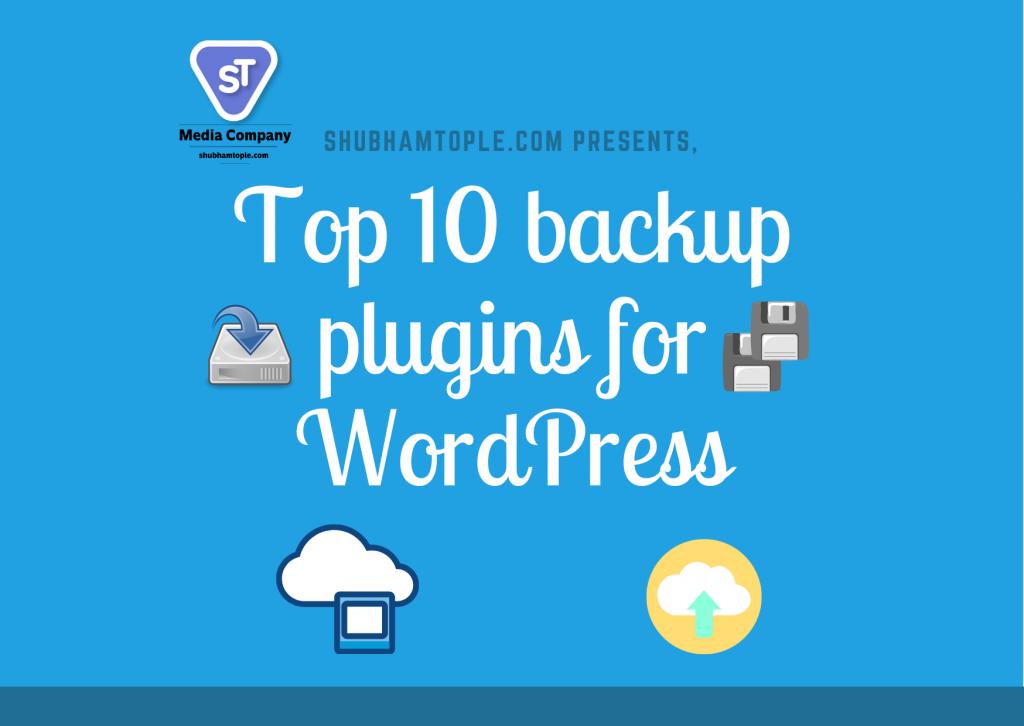 backup plugins for WordPress