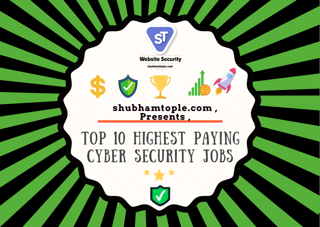 highest paying cybersecurity jobs