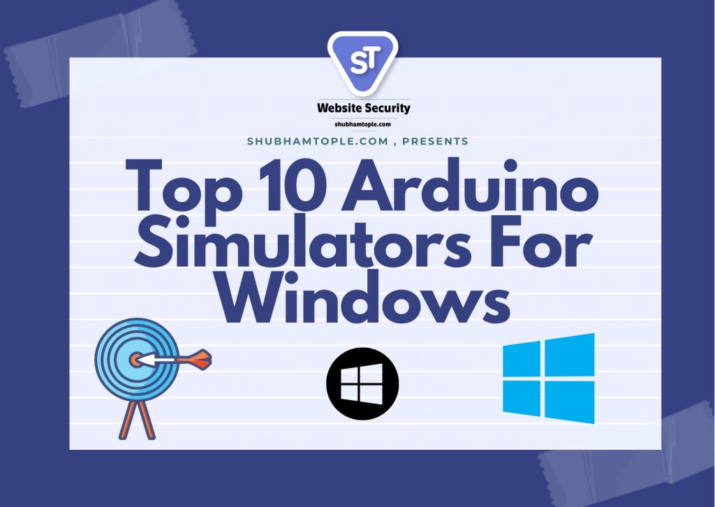 Arduino Simulators For Windows
