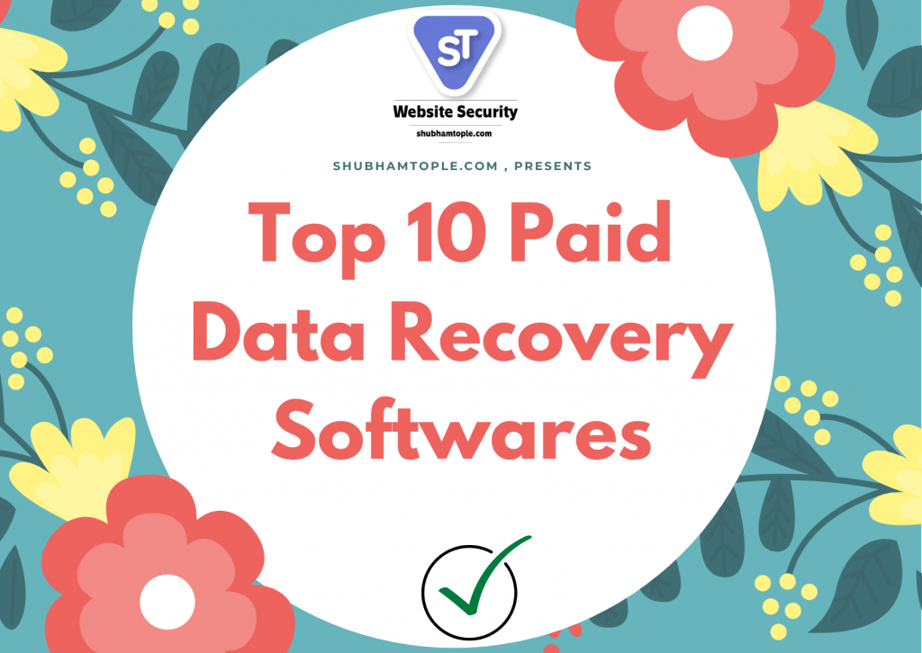 Paid Data Recovery Softwares