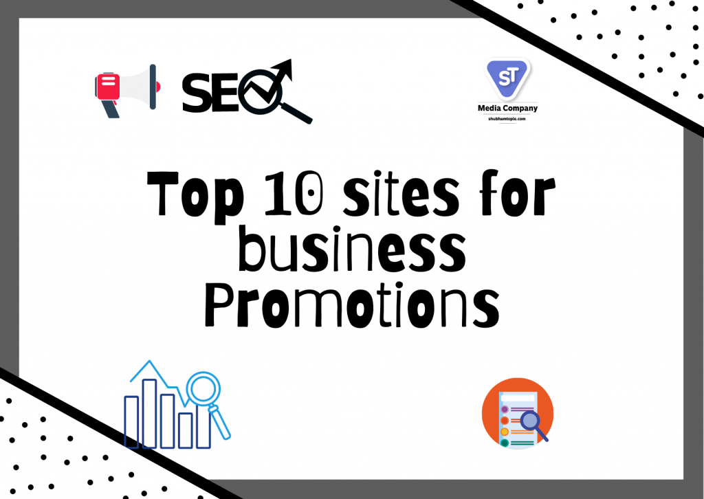 sites for business promotions