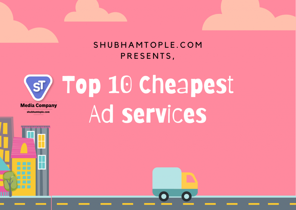 cheapest ad services
