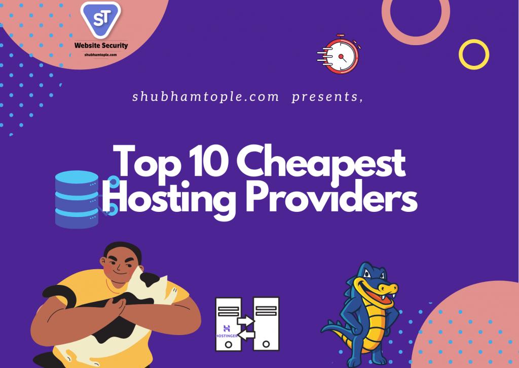 Cheapest Hosting Providers
