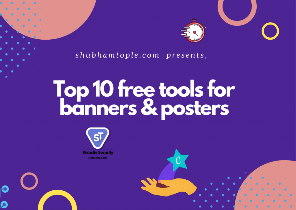 free tools for banners & posters