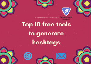 tools to generate hashtags