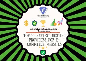 fastest hosting providers for e-commerce websites